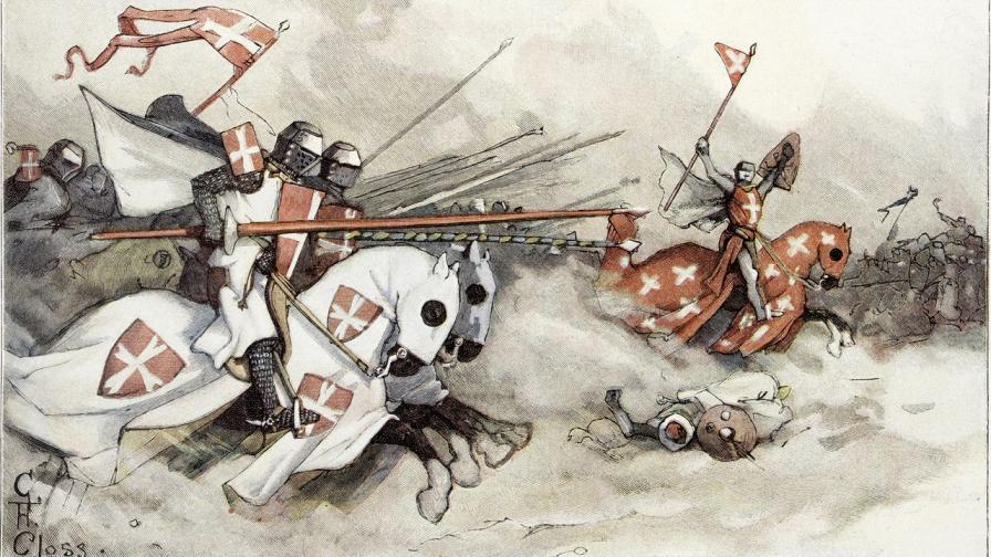 Кръстоносните походи са едни от най-мащабните военни кампании в историята