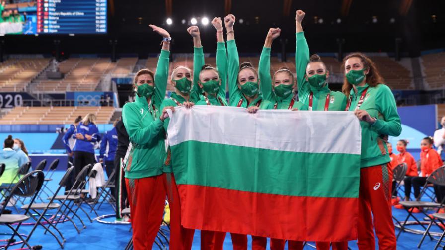 Българският ансамбъл донесе трето злато за България