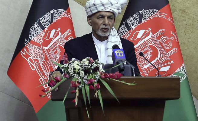 Президентът на Афганистан Ашраф Гани: Това е върховният приоритет