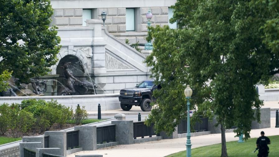 <p>Бомбена заплаха в близост до сградата на Конгреса във Вашингтон</p>