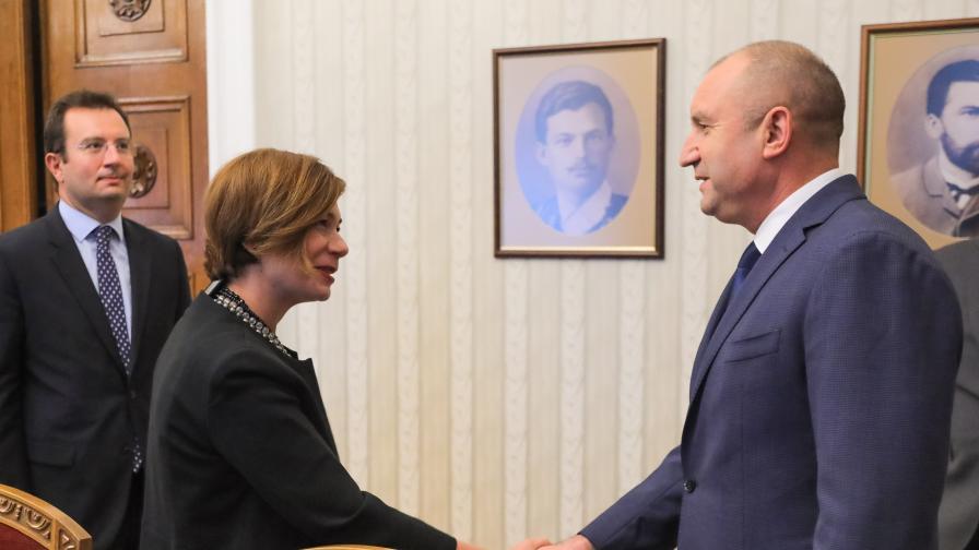 Радев обсъди с посланика на Турция ситуацията в Афганистан
