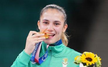 Златно момиче на България се влива в редиците на МВР