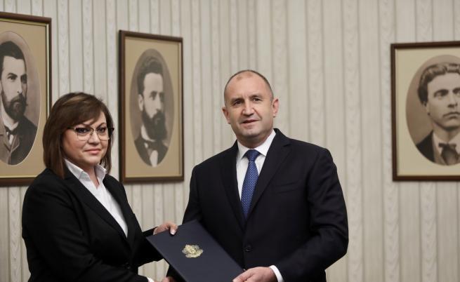 Румен Радев връчи третия проучвателен мандат за съставяне на правителство