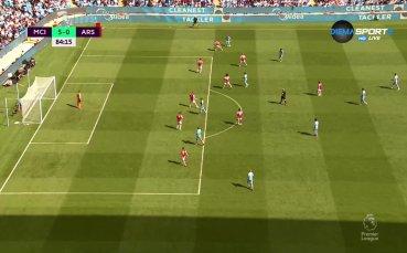 Торес продължи мъката в Арсенал с втория си гол в двубоя