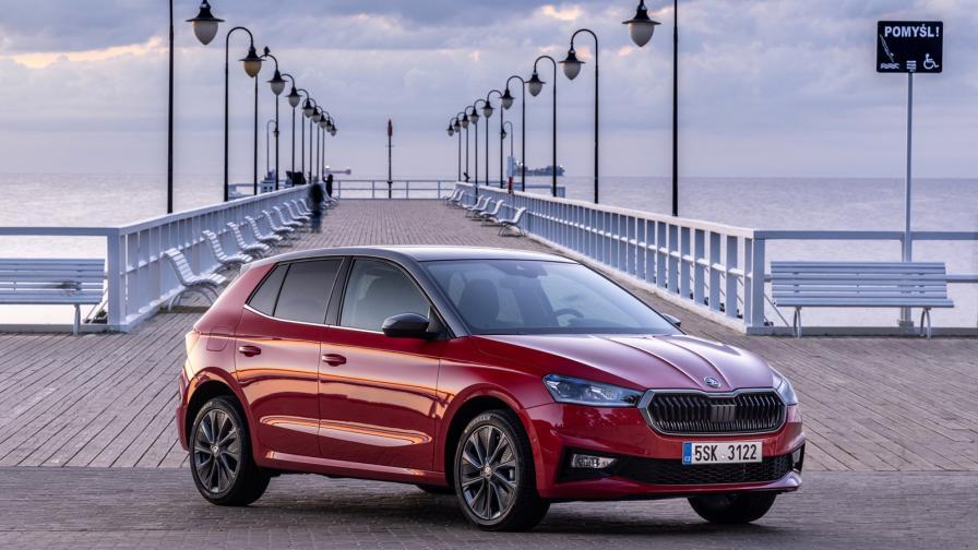 Първата Fabia, базирана на модулната платформа MQB-A0 на Volkswagen Group, е най-просторният автомобил в сегмента.