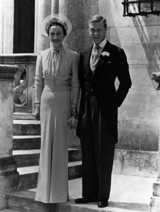 Уолис Симпсън и крал Едуард на сватбата им
