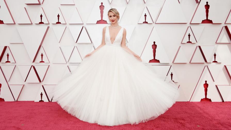 Мария Бакалова на наградите Оскар