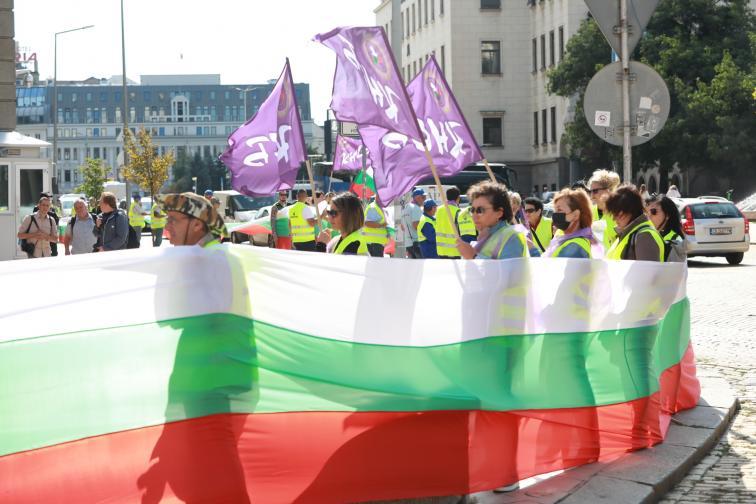 протест автомагистрали