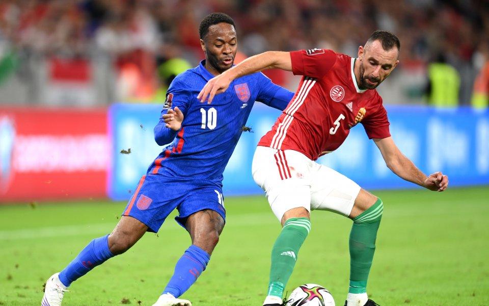 Националните отбори на Унгария и Англия играят при