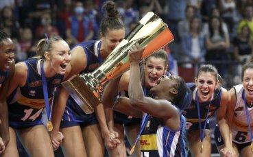 Италия е новият европейски шампион по волейбол за жени
