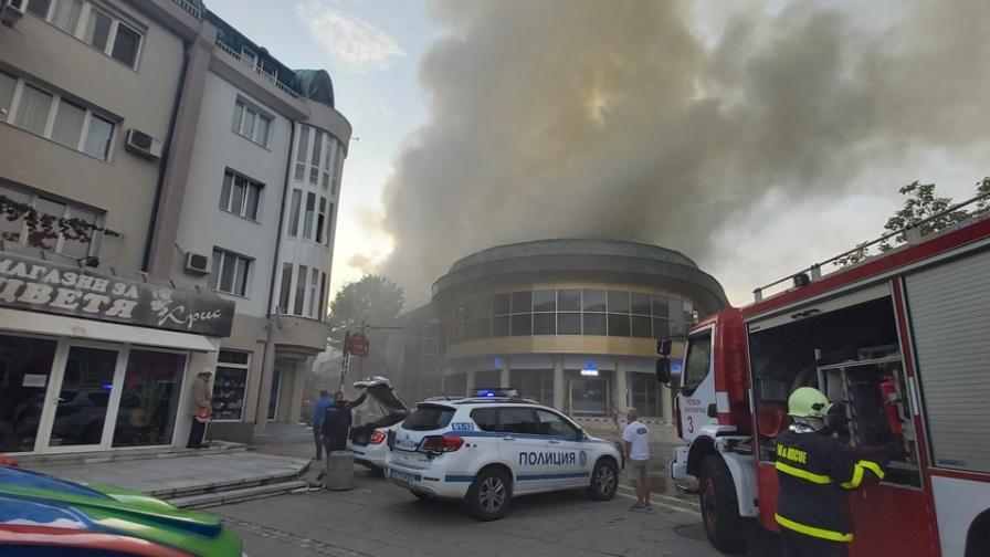 Задържаха заподозрян за пожара в Благоевград