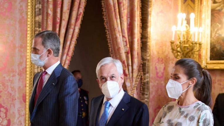41 години по-късно: кралица Летиия сияе във флоралната рокля на кралица София