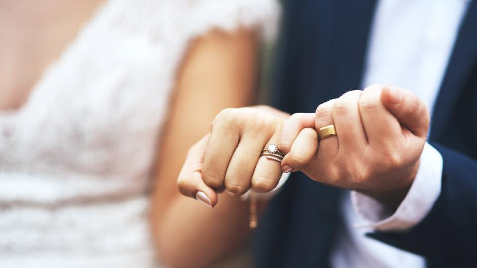 брак сватба