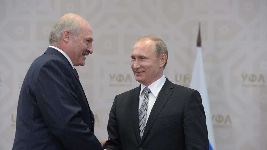 Путин и Лукашенко проведоха среща в Москва, какво се договориха