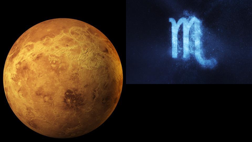 Венера Скорпион астрология
