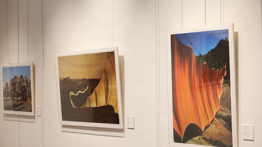 Първа изложба на Кристо и Жан-Клод в София