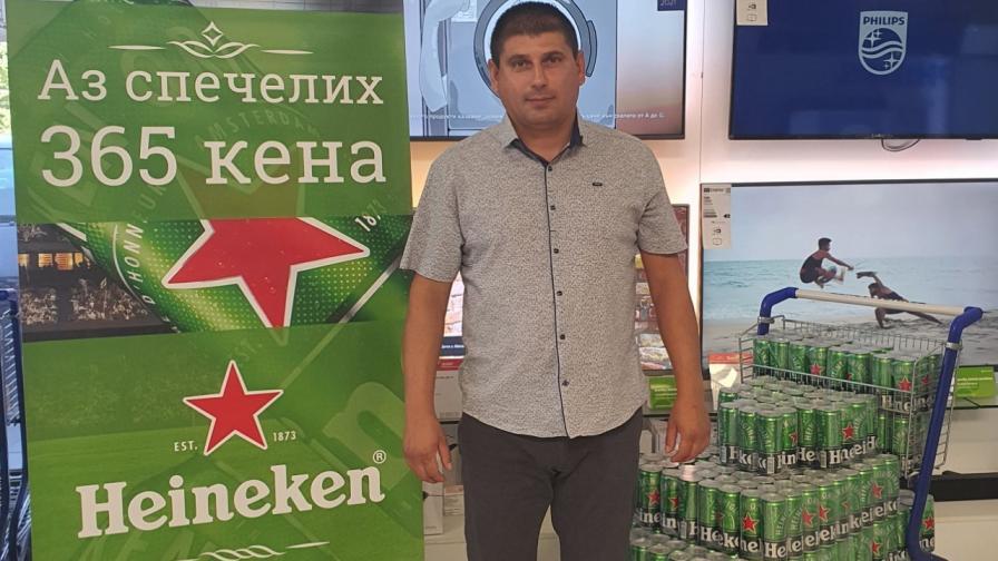 <p>Техномаркет изтегли победителя от националната си кампания &bdquo;Купи хладилник и спечели бира, колкото за цяла година&ldquo;</p>