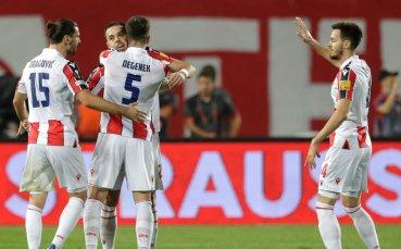 Цървена звезда респектира с 4 гола преди Разград