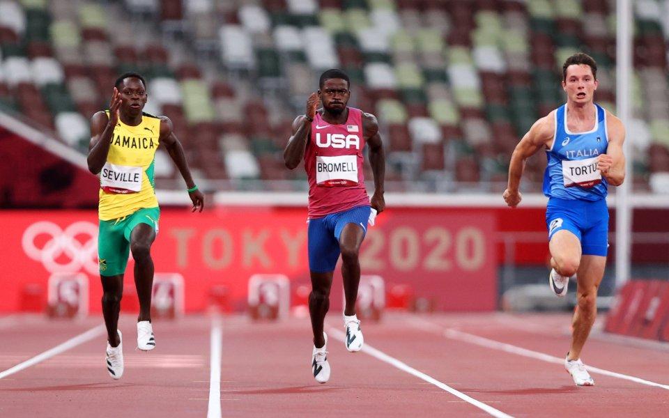 Бромел записа най-добро време на 100 метра за сезона