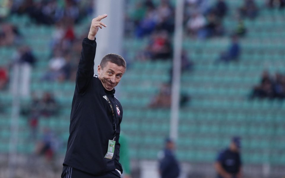 Помощник-треньорът на ЦСКА Анатоли Нанков сподели след победата с 3:0