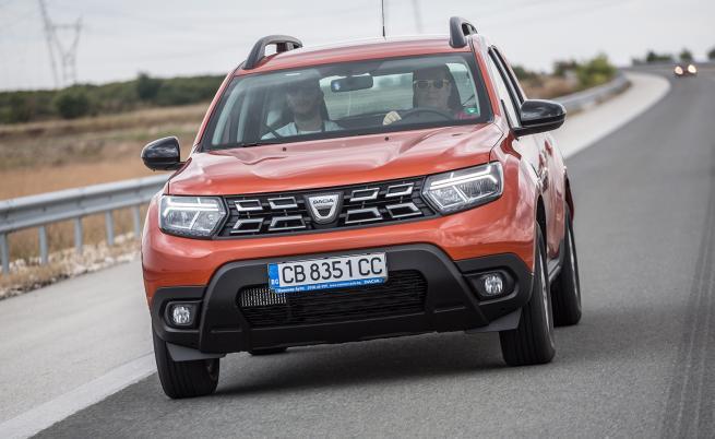 STOP & GO: Благодарение на двата си резервоара, всеки с полезен капацитет от 50 литра, кумулативният пробег на новата Dacia Duster ECO-G 100 достига 1235 км.
