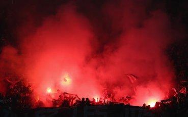 Нови безредици във Франция! Феновете на Сент Етиен вилняха преди мач на отбора