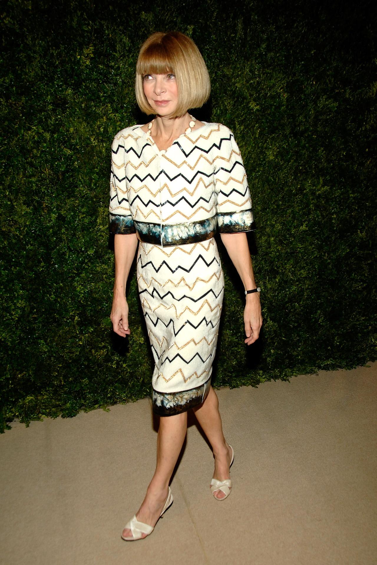 <p><strong>Ана Уинтур</strong></p>  <p>Главният редактор на &quot;Вог&quot; от 1988 г. е истинска институция в света на модата.</p>