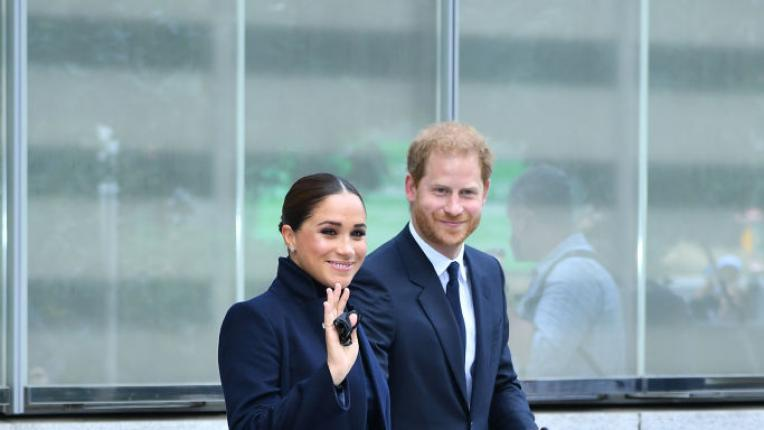 Меган Маркъл и принц Хари пристигнаха в Ню Йорк