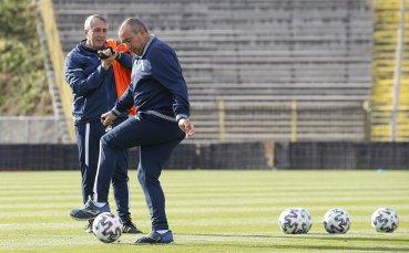 Мъри показва отбора преди дербито с ЦСКА