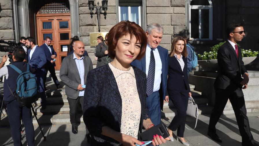 <p>Атанасова: Надяваме се, че ГЕРБ ще бъде първа политическа сила</p>