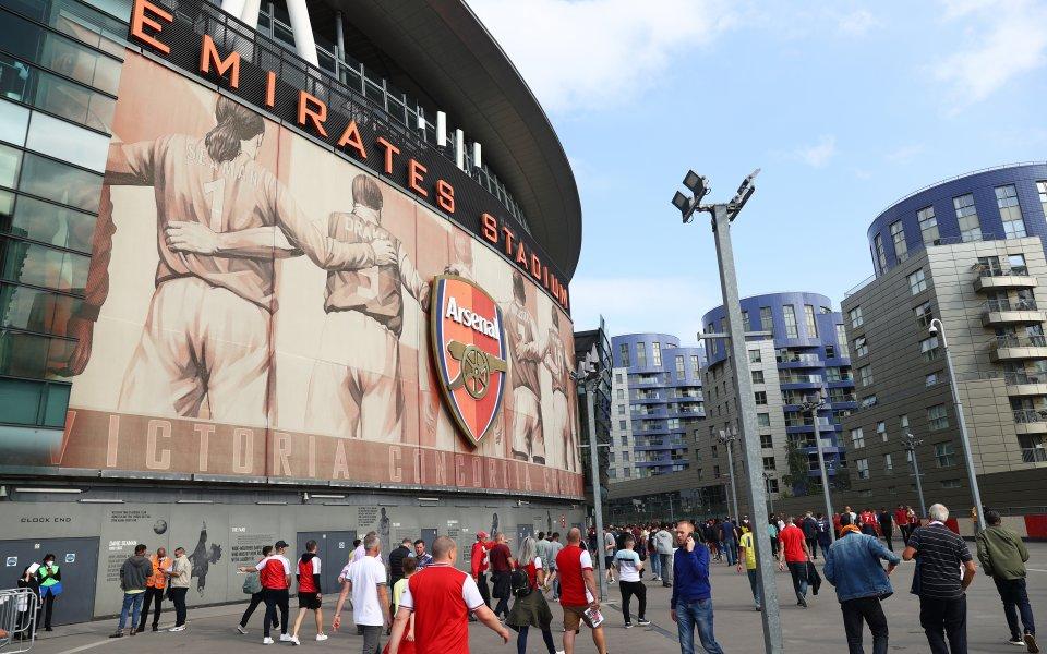 Отборът на Арсенал посреща Тотнъм в Лондонско дерби от шестия