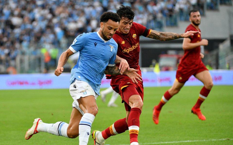 Лацио победи Рома с 3:2 в римското дерби от шестия