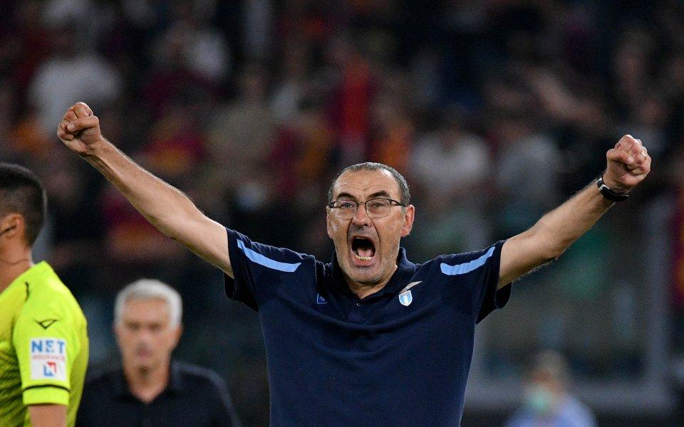 Отборът на Лацио спечели градското дерби с Рома с 3:2