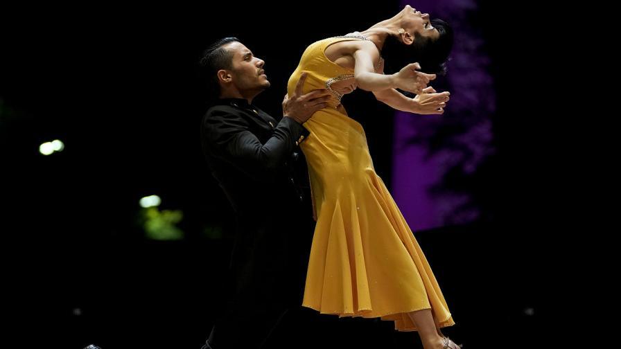 Снимката от финала на Световното първенство по танго през 2021 година