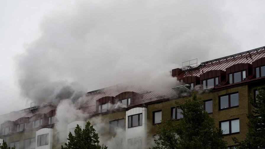 <p>Експлозия в жилищна сграда в Швеция</p>