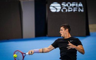 Алекс Лазаров стартира утре на сингъл на Sofia Open