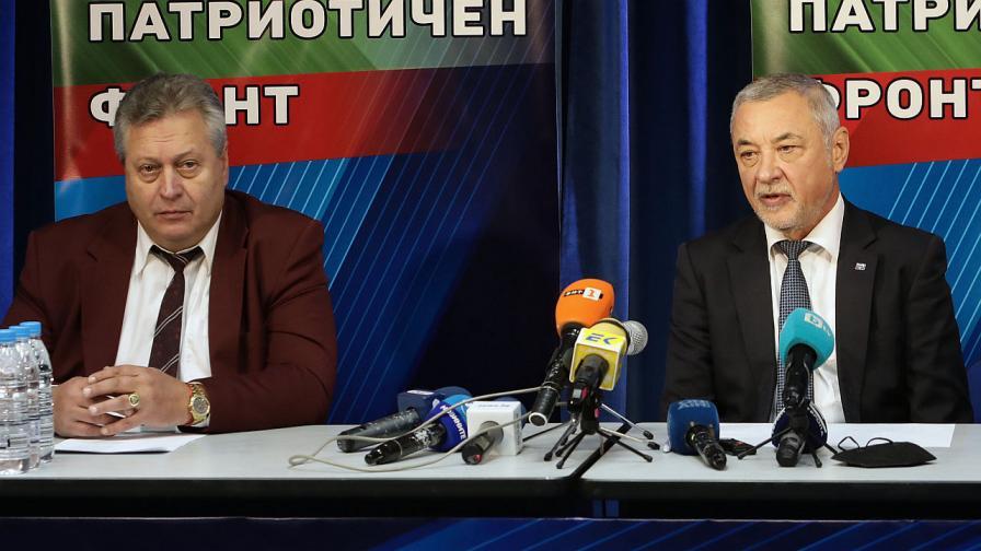 Валери Симеонов и Цветан Манчев