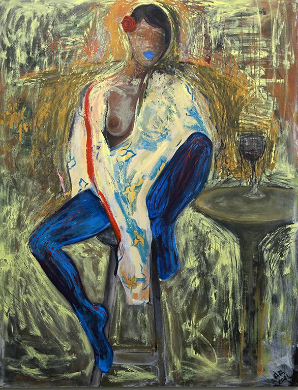 <p>Актрисата Диана Димитрова, която очарова зрителите в престилката на доктор Огнянова в &bdquo;Откраднат живот&ldquo;, откри изложбата си &bdquo;Жената&rdquo; в галерия &bdquo;nOva art space&rdquo;</p>