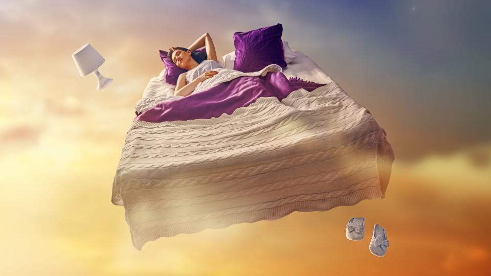 жена сън сънища