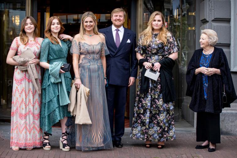 нидерландия кралско семейство