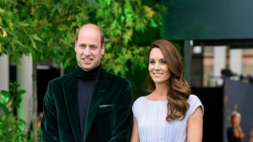 Принц Уилям и Кейт Мидълтън на откриването на наградите Earthshot