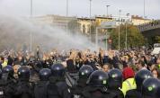 Сблъсъци между полицията и противници на здравния пропуск в Италия