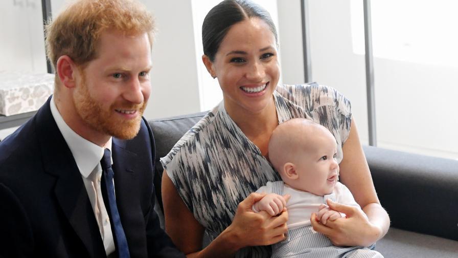 Принц Хари, Меган Маркъл и синът им Арчи