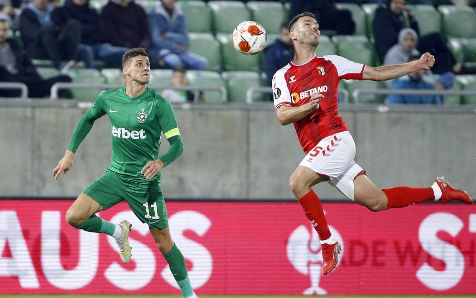 Капитанът на Лудогорец Кирил Десподов говори след поражението с 0:1