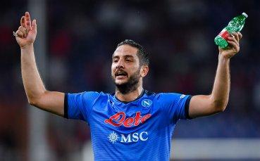 Защитник на Наполи под въпрос за дербито с Рома