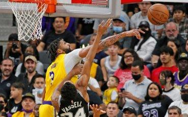 ЛА Лейкърс победи Сан Антонио след продължения, резултати от НБА