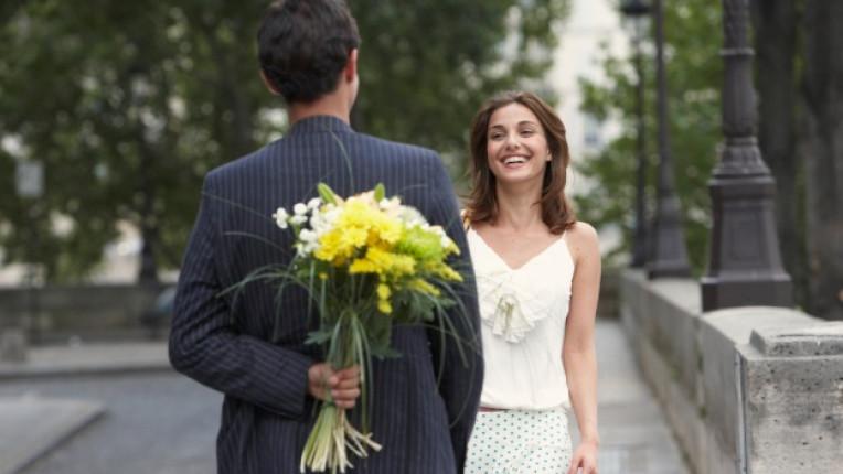любов двойка мъж жена нежност