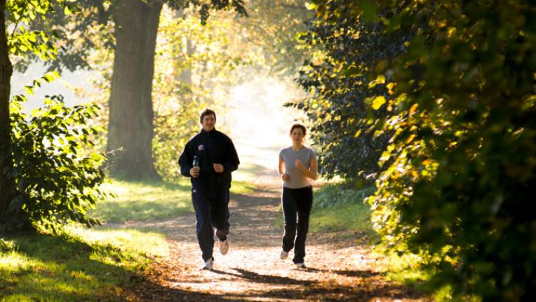 тичане спорт ходене гора двойка