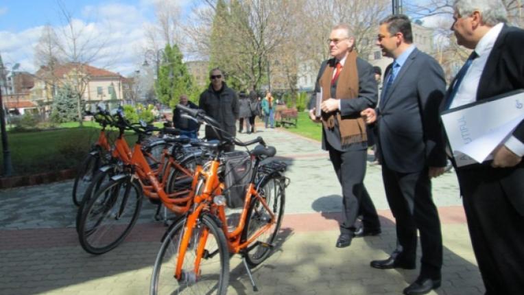 велосипед обиколка София на открито посолство Холандия Карел ван Кестерен