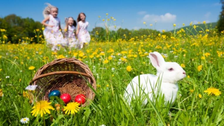 Великден традиции незнание деца семейство Исус Христос пости великденски заек